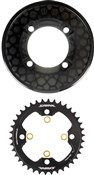 Shimano Saint CR81 Chainring and Bash Guard Set Without Fixing Bolts