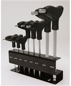 T-Bar Ball End Hex Ket Set With Rack