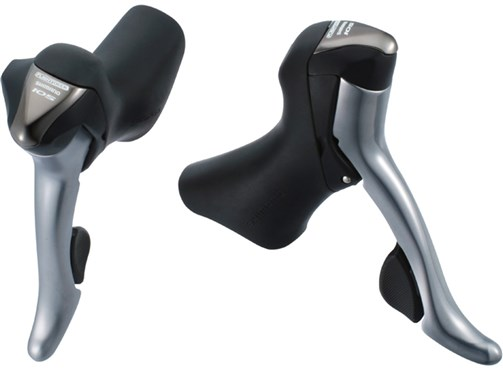 Image of Shimano 105 ST5600 10 Speed Road STI Levers 5603