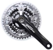 Product image for Shimano FC-M590 Deore 2 Piece 9 Speed Chainset
