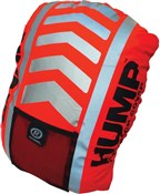 Hi-viz Hump Fluorescent Red Rucksack Cover