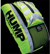 Hi-viz Hump Waterproof Rucksack Cover With Extra Storage Pocket