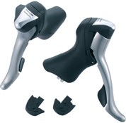 Product image for Shimano R701 10 Speed Double Road STI Levers With Adjustable Reach