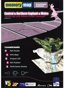 Memory Map OS Landranger 1:50k Premium Edition Great Britain V5 - Central - DVD