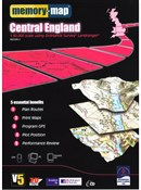 Memory Map OS Landranger 1:50k Standard Edition Central England V5 - CD