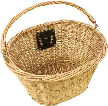 Image of ETC Wicker Basket With QR Bracket