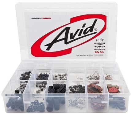 Image of Avid Spare Parts Tacklebox - Elixir Disc Brakes