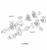 Chainring/Guide Kit 24t for HammerSchmidt Cranks