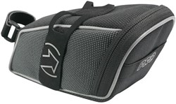 Saddlebag with Velcro Style Hook and Loop Strap