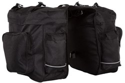Product image for ETC Double 600D Pannier Bag