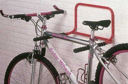 Mottez 2 Bike Folding Wall Mount Storage Rack Tredz Bikes