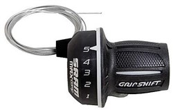 Product image for SRAM MRX Twist Shifter - 7 SpeedRear 2:1 fits Shimano