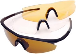 Madison D Arcs Triple Lens Set Cycling Glasses