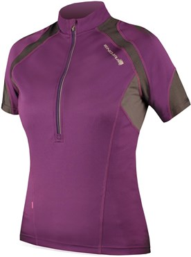 Image of Endura Hummvee Womens Short Sleeve Cycling Jersey SS17
