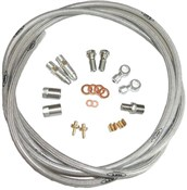 Hope S.S.Braided Hose Kit (inc. Conn)