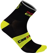 Castelli Rosso Corsa 9 Cycling Socks SS16