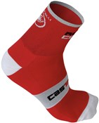 Castelli Rosso Corsa 9 Cycling Socks AW16