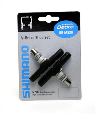 Shimano M600 (for LX / Deore / Alivio V-brake) One Piece Brake Blocks