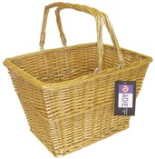 Front Wicker Basket With Handle