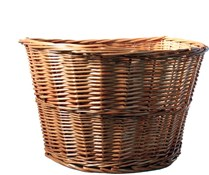 Wicker Basket With Quick Release Basket