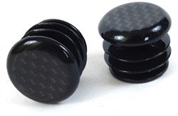 Carbon Fibre Bar End Plugs For Mountain Bikes