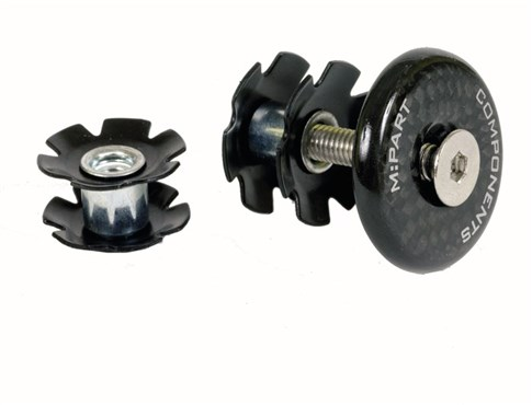 Image of M Part Carbon Fibre Star Nut Set