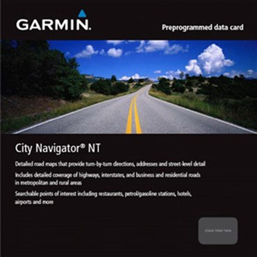 Image of Garmin MicroSD - City Navigator NT Europe