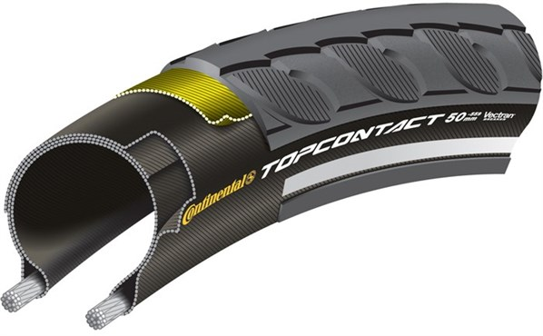 Continental Top Contact Reflex Hybrid Tyre