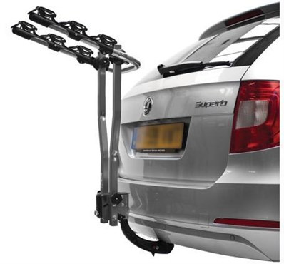 Image of Peruzzo Arezzo Towball 3 Bike Car Carrier / Rack