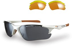 Twister Sunglasses With 3 Interchangeable Lenses