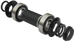 Gusset Mid BMX Bottom Bracket Set - No Axle
