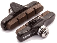 Clarks Road Brake Pads w/Ultra-lite Carbon Carrier & Insert Pads for Carbon Rims