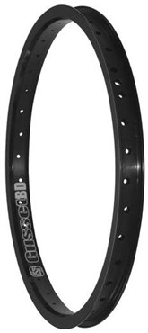 Image of Gusset Black Dog BMX Rim