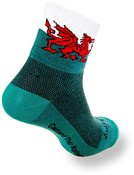 "SockGuy Classic 3"" Socks - Welsh Dragon"