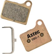 Product image for Aztec Sintered Disc Brake Pads For Shimano Deore M555 Hydraulic / C900 Nexave