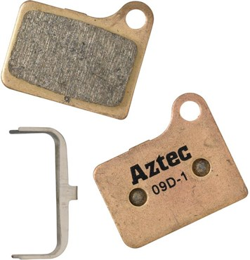 Image of Aztec Sintered Disc Brake Pads For Shimano Deore M555 Hydraulic / C900 Nexave
