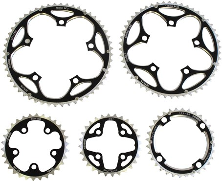 One23 6061 T6 Alloy Chainring - 110PCD Outer