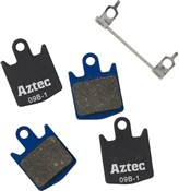 Aztec Organic Disc Brake Pads For Hope Organic / DH4 Callipers (2 Pairs)