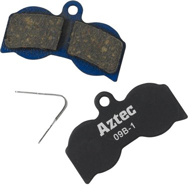 Image of Aztec Organic Disc Brake Pads For Hope XC4 Callipers