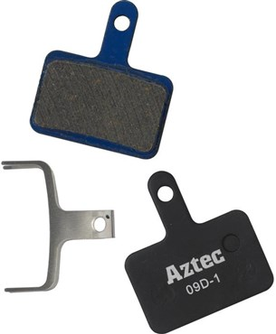 Image of Aztec Organic Disc Brake Pads For Shimano Deore M515 Mechanical / M525 Hydraulic