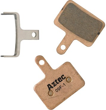 Image of Aztec Sintered Disc Brake Pads For Shimano Deore M515 / M475 / C501 / C601 Mech / M525