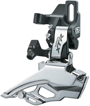 Shimano XTR M986 10 Speed Double Front Derailleur Direct Fit Dual Pull