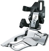 Product image for Shimano XTR M981 10 Speed Triple Front Derailleur, Direct Fit, Dual Pull