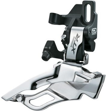 Shimano XTR M981 10 Speed Triple Front Derailleur, Direct Fit, Dual Pull