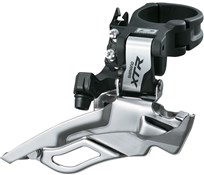Product image for Shimano XTR M981 10 Speed Triple Conventional Swing, Dual-Pull Front Derailleur