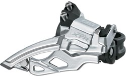 Product image for Shimano XTR M985 10 Speed Double Front Derailleur, Top Swing, Dual Pull