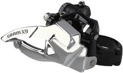 SRAM X9 10 Speed Front Derailleur Low Clamp