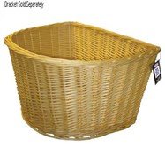 Product image for Adie D-Shape Wicker Basket 16 Inch