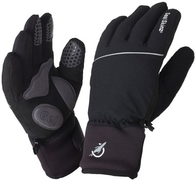 Image of Sealskinz Winter Cycle Long Finger Gloves