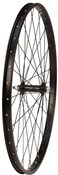 Tru-Build 26 inch Alloy Rim With Alloy Hub and Nutted Axle Front MTB Wheel